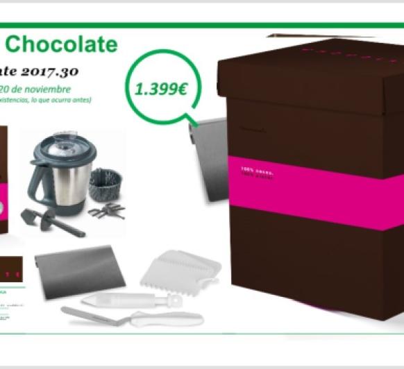 Edición chocolate. Toda una tentación