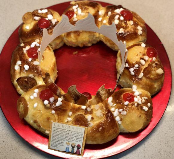 Roscón de Reyes (Claro... claro... tengo dos vasos)