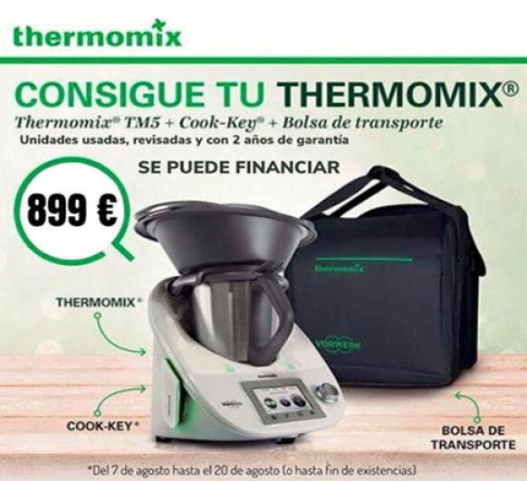Gran oferta Thermomix® TM5 por 899€