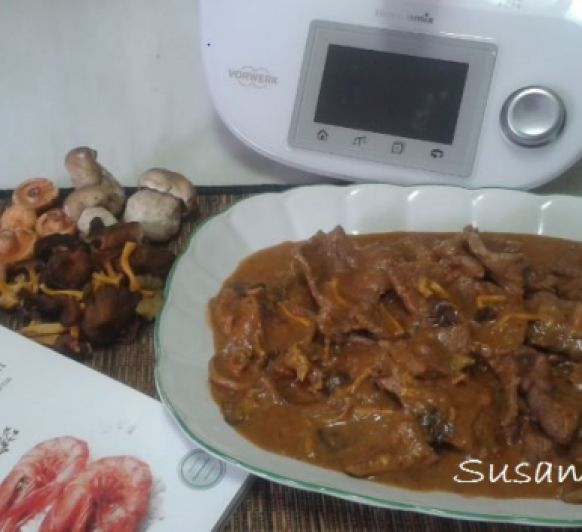 Fricandó con Thermomix®