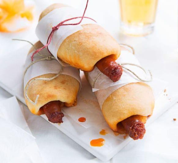 Hot dog de chistorra, con Thermomix®