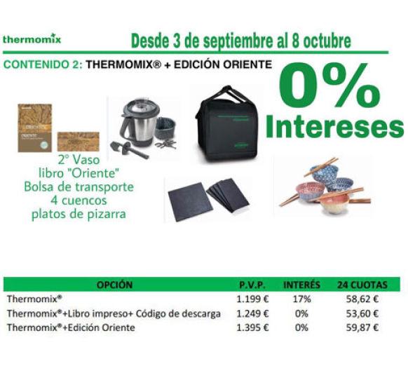 Comprar Thermomix® , financiado al 0% de interés, nueva promoción