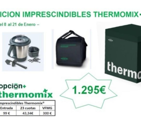 Thermomix® TM5 : EDICION IMPRESCINDIBLES !!!!