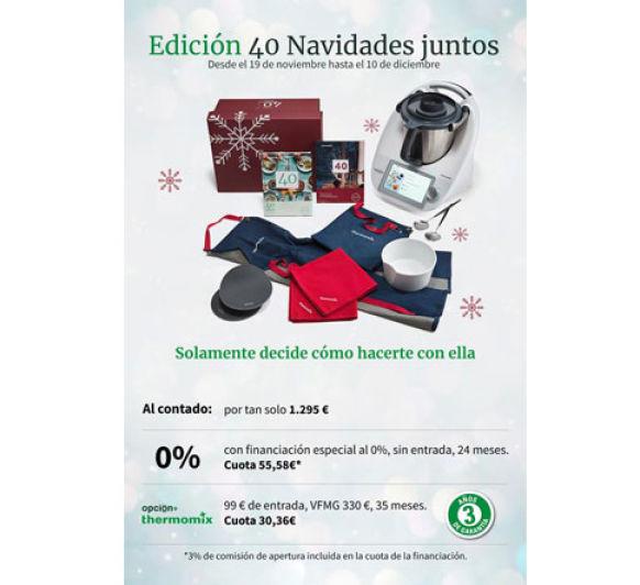 Promoción Navidad Thermomix® , financiación al 0%