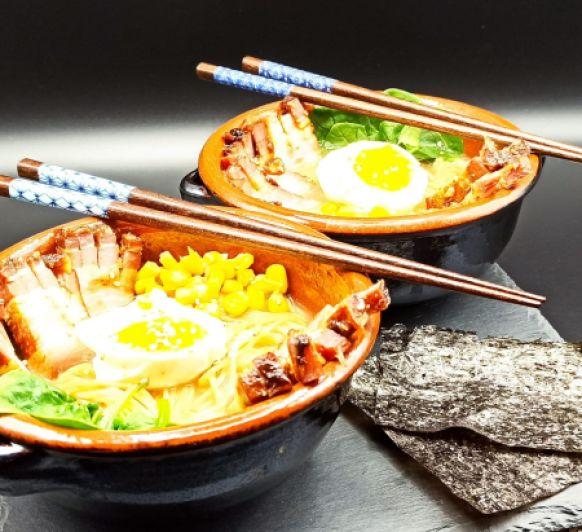 Ramen con Thermomix® (Sopa de fideos japoneses)