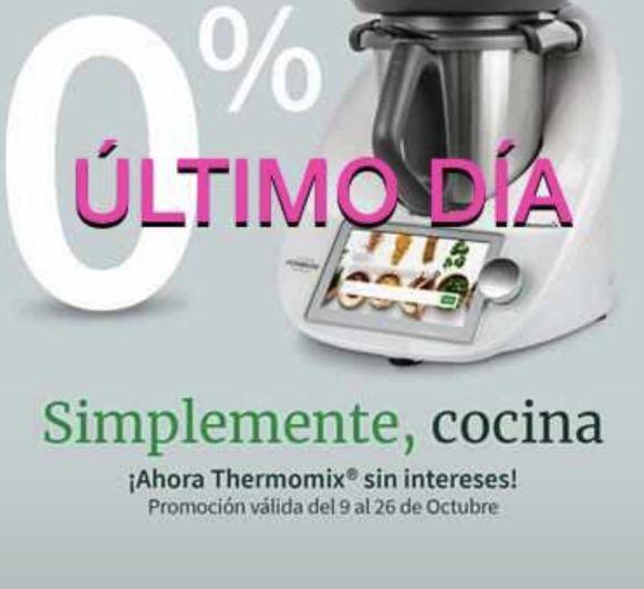 Thermomix® 0% ULTIMA OPORTUNIDAD