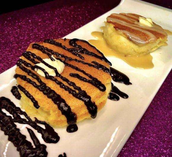 Buzcocho o tortitas japonesas