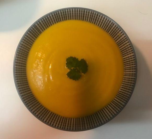 Crema de zanahoria y jengibre en Thermomix®