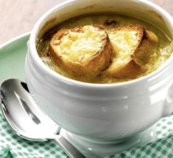 Sopa de Cebolla.