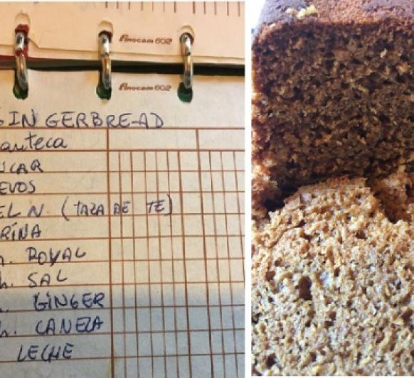 Gingerbread o pan de jengibre, el delicioso pastel que acompaña un buen Té Inglés