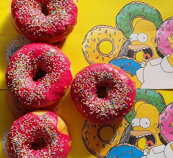 DONUTS GLASEADOS (Los Simpson) EN Thermomix®