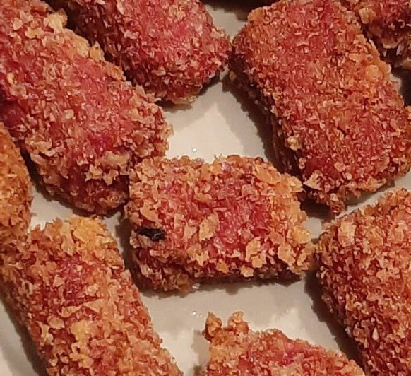 croquetas de remolacha roja (50 unidades aprox.)