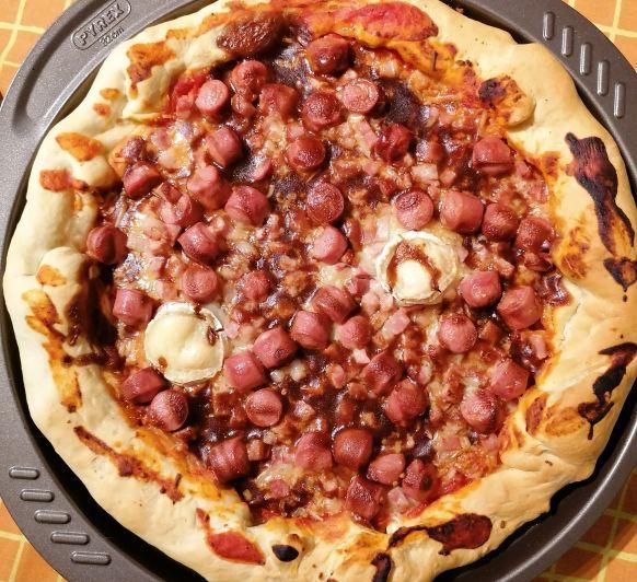 Pizza a tu gusto, así de fácil!