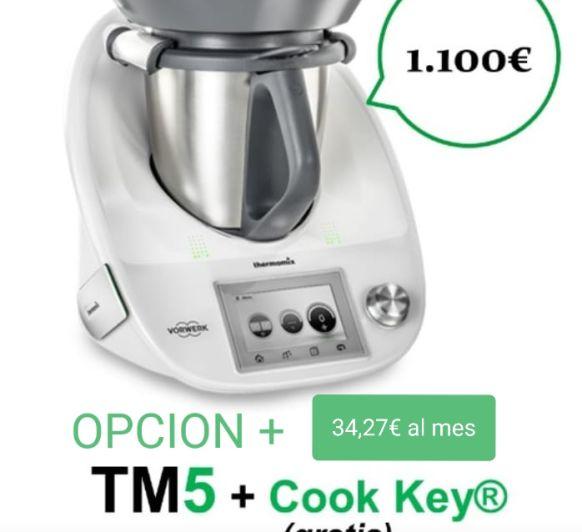 TM5 con Cook key por 1100€