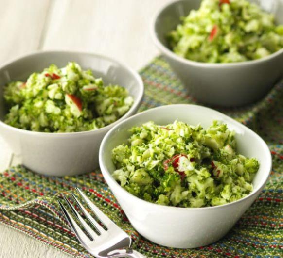 Ensalada rápida de brócoli con Thermomix®