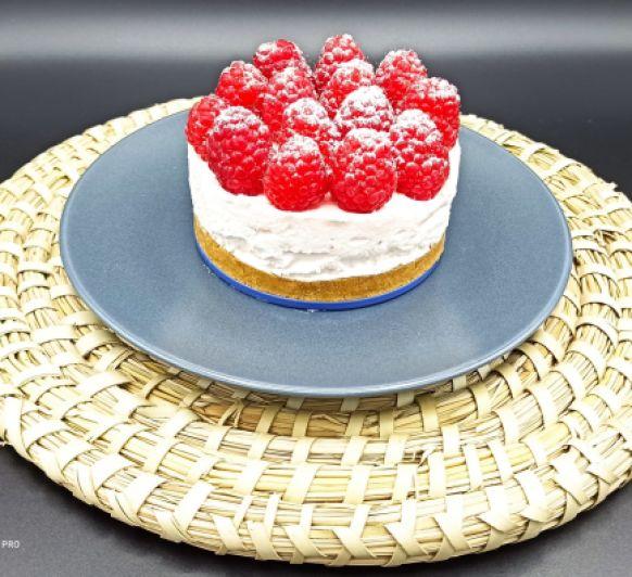 Cheesecake de frambuesas con Thermomix®