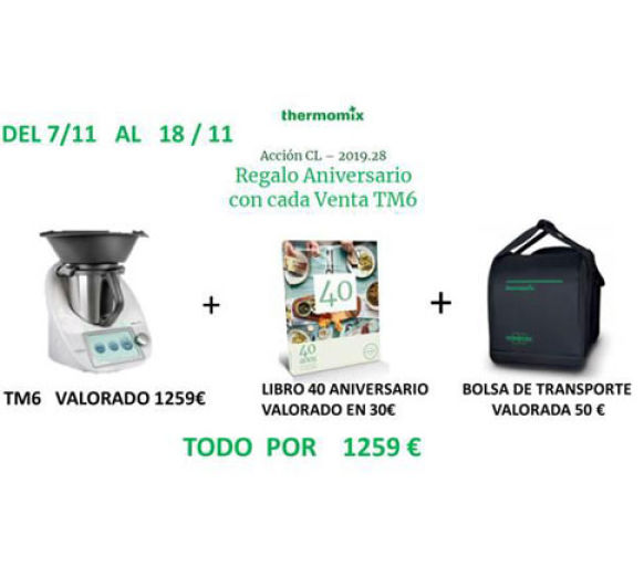 Aprovecha el BLACK FRiDAY, con Thermomix®