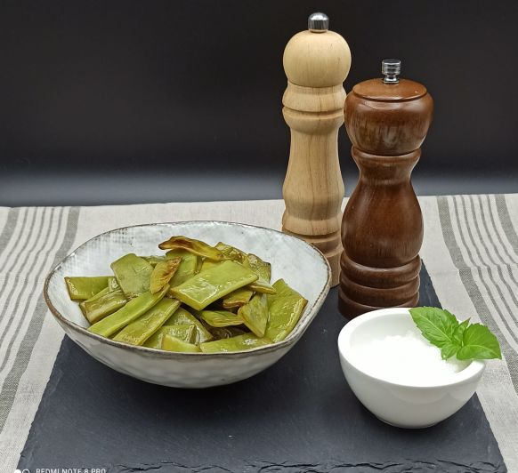 Judias verdes cocinadas a ALTA TEMPERATURA con Thermomix®