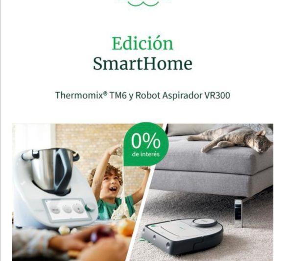 Edición smartHome 0% intereses Thermomix® + Robot aspirador VR300