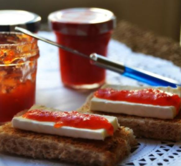 Mermelada de pimientos rojos caramelizados con Thermomix®