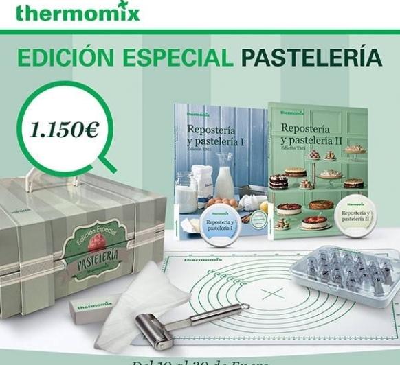 Nueva promoción de Thermomix® ''EDICION REPOSTERIA''