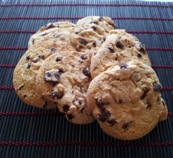 Galletas con Pepitas de Chocolate con Thermomix®