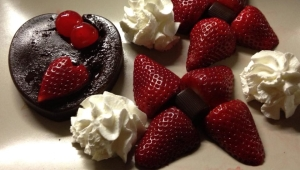 Corazón de Chocolate para dos con Thermomix®