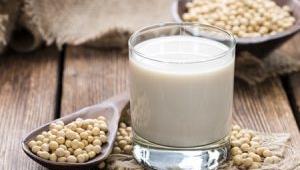 Receta vegana: Leche vegetal de soja rica en calcio con Thermomix®