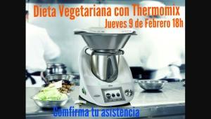 CLASE DE COCINA GRATUITA VEGETARIANA CON Thermomix®