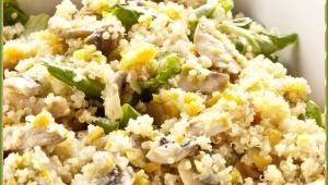 Quinoa con verduras salteadas con Thermomix®